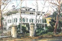 Tuesday Treasure: Bradley-Wheeler House Paintings