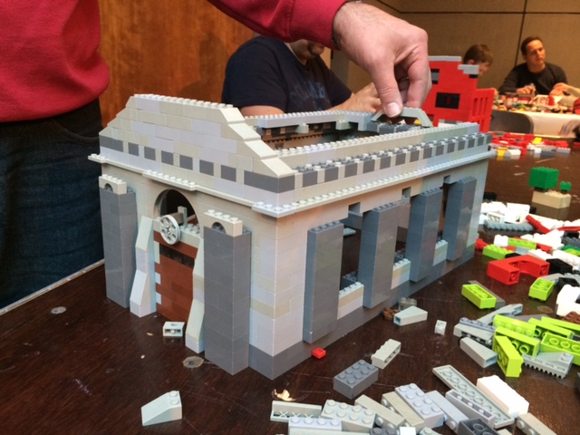 Weather Report this Sunday: COLD, come inside & Build Westport -One LEGO at a Time!