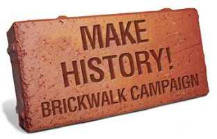 Add Your Brick to the WHS Brickwalk! A New Holiday Gift Idea!