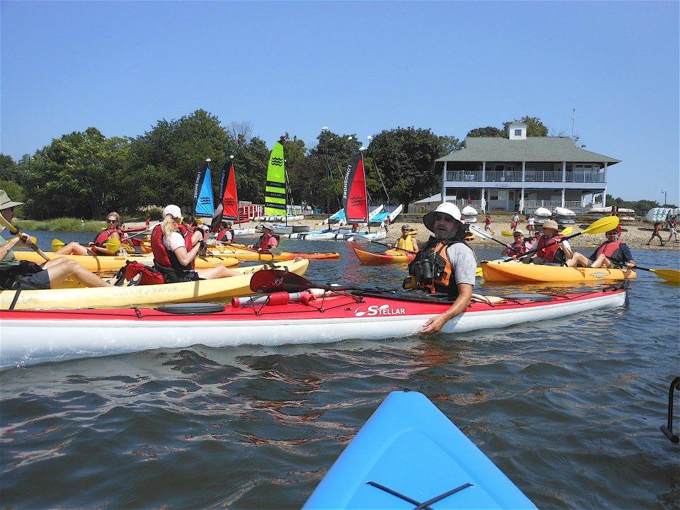 7th Annual Kayak to Cockenoe